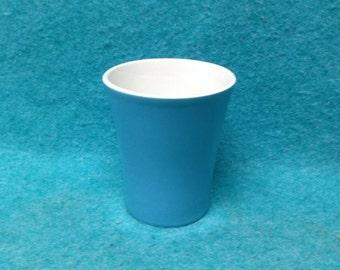 Royal China Blue Heaven Pottery Water Tumbler