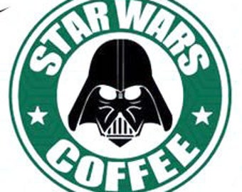 DIY Star War Vinyl Decal, Coffee Cup, Car Window Decal, Drinkware Decal, Laptop Decal, Tablet Decal, Stainless Steel Cup Decal, Canvas Decal