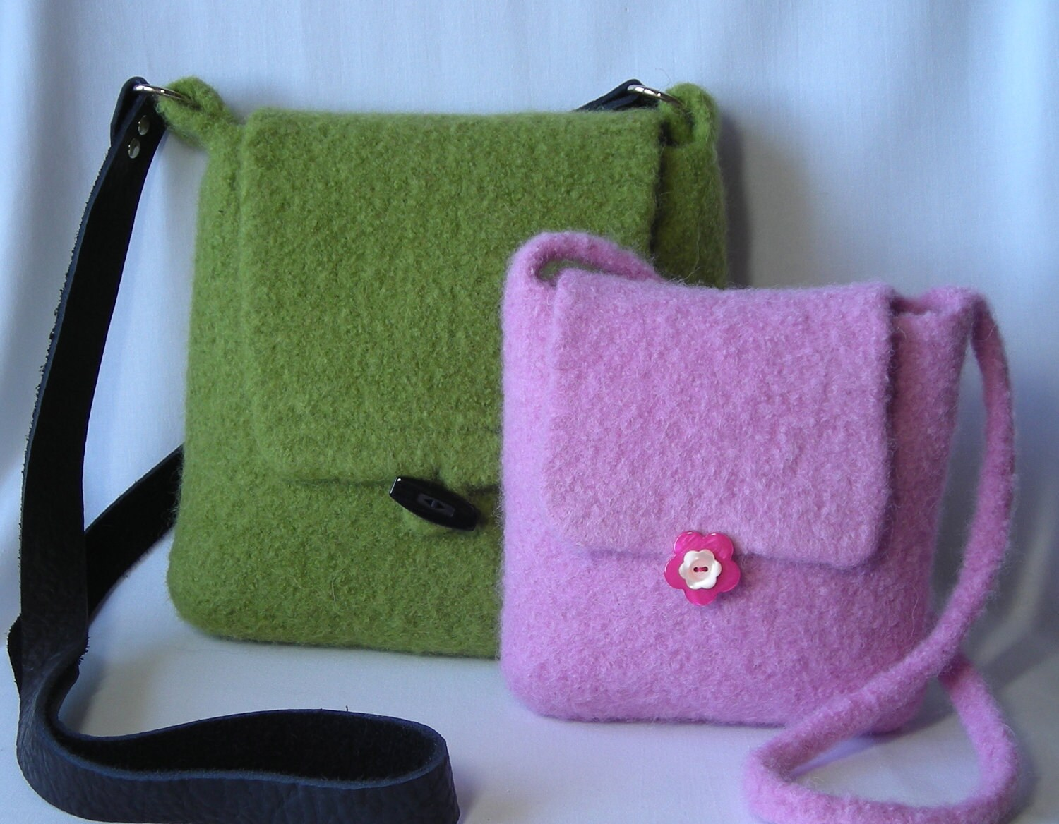 Knitting Pattern Felted Hipster Bags hand knit felted wool handbag ...