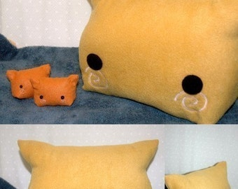 Big Inari Sushi Kitty Pillow