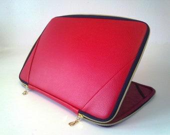 Macbook Case Red Leather Laptop Case Macbook Pro 13 Case Laptop Sleeve 13 Macbook Air Case Laptop Bag Macbook Pro Case Macbook Pro 15 Case