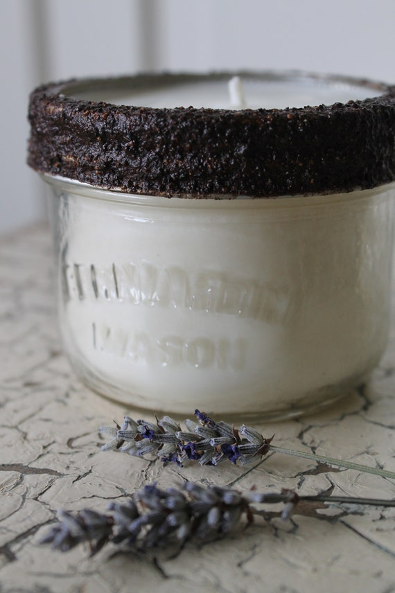 Summer Solstice - 100% Soy wax and essential oil candle -8oz glass jar