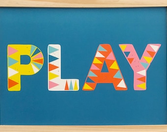 PLAY Type (blue)