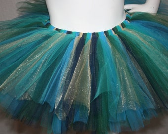 Pretty Peacock Adult Teen Tutu-shay