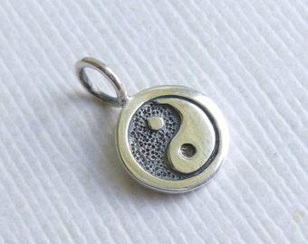 Sterling Silver Yin Yang Charm... 1 piece