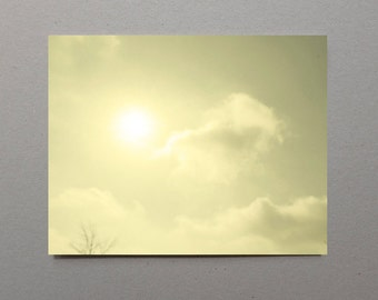Sun Photography Sky Photography Grey and Yellow Wall Art Decor Yellow Kitchen Decor Boho Decor Bright Photography Summer Wall Art Decor