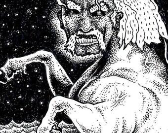 Hulkicorn - Original Drawing