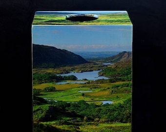 """Tissue Box Cover """"Lady's View"""" Ring of Kerry, Ireland"""