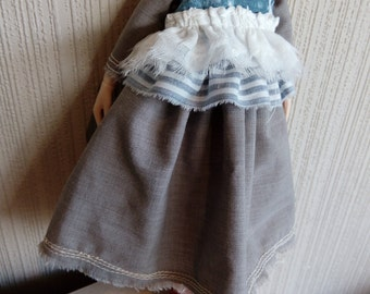 Waistcoat and Dress for Blythe doll outfit