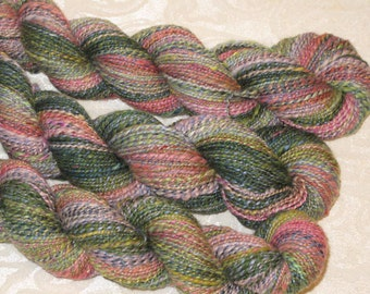 Handspun Yarn - Merino, Silk, Alpaca, and other fibers