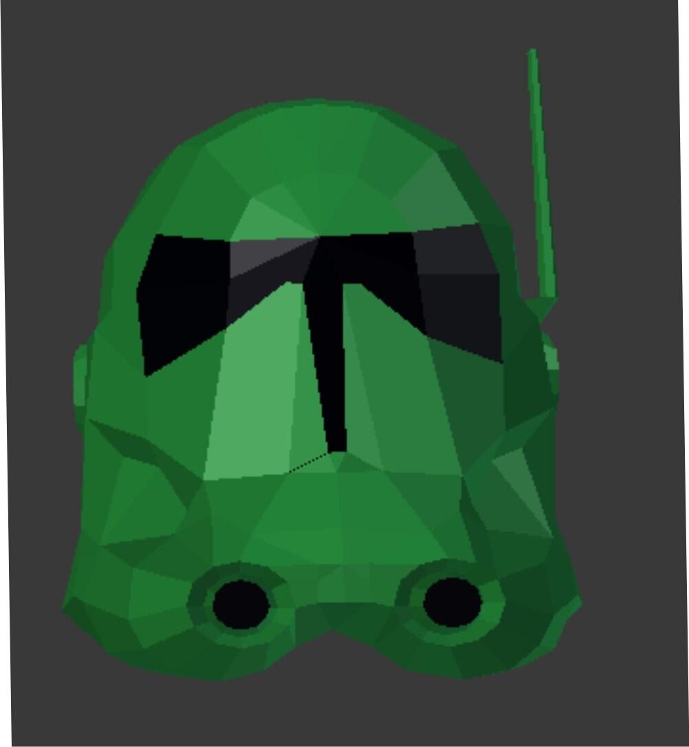 Star Wars Bakara Cosplay Helm Replik Muster für Papier und EVA Foam ...