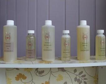 Pet Shampoo - Dog Shampoo - Horse Shampoo - No Fleas - No Ticks - Organic - Fresh Mint - In the Woods - Unscented - Pet Care