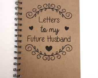 Love Arrow Notebook initials Couple initials Wedding Gift