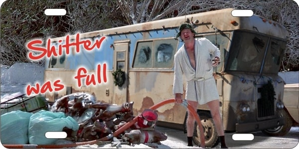 Christmas Vacation Cousin Eddie Rv Personalized Novelty Front