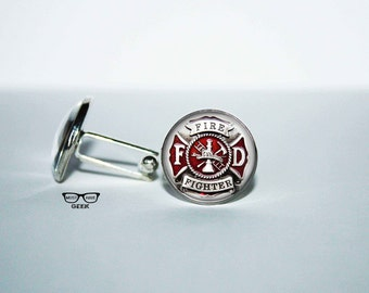 Very best Fireman cufflinks | Etsy UG95