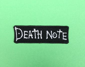 Death Note Iron-on Patch