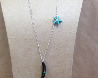 Starfish Squiggle Necklace