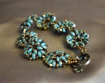 Babylon flower bracelet