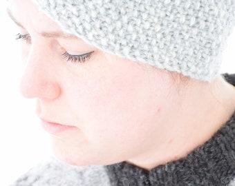 Knitted headband - Icelandic wool