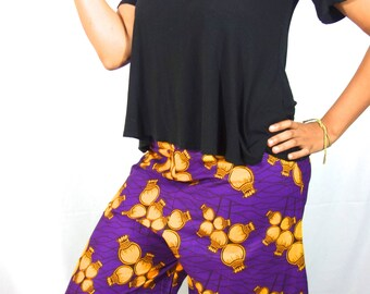 Palazzo Pants, African Clothing, Wide Leg Pants, Womens Pants,  African Print, African Pants, Boho Pants,  African Fashion , Kay Collection