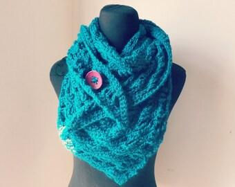 Ally Triangle wrap/shawl