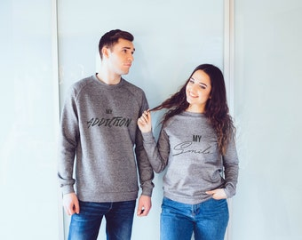 Love gifts for him/ love gifts for her/ black top/ soft hoodie/ soft sweatshirt/ anniversary gifts for boyfriend/ 1 year anniversary gift