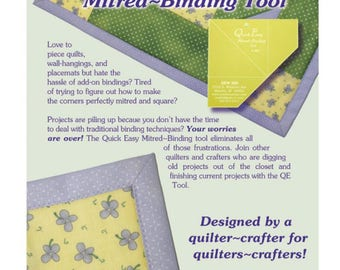 Quick-Easy Mitered Binding Tool New Free US Shipping