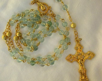 Green Fluorite Rosary 6mm