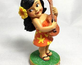 Mini Dashboard Hula Girl Keiki Island Girl Doll