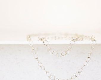 bracelet of silver links