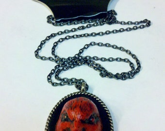 Red BIrd Necklace