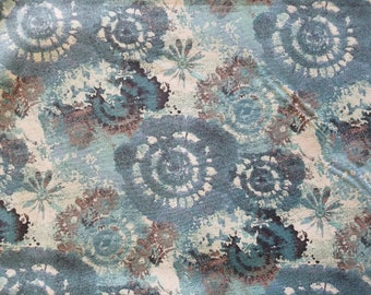 Tiedye Carnival Cotton Fabric by the yard