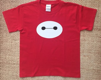 Big Hero 6 Baymax Toddler Tshirts. Disney shirts. Birthday tee.