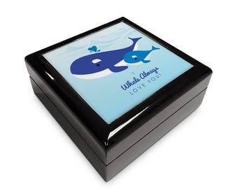"Mother's Day ""I Whale Always Love You""   Inspired 6x6 Memory Box"