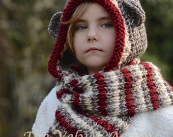 Knitting PATTERN-The Stockleigh Monkey  (12/18 months, Toddler, Child, Teen, Adult sizes)