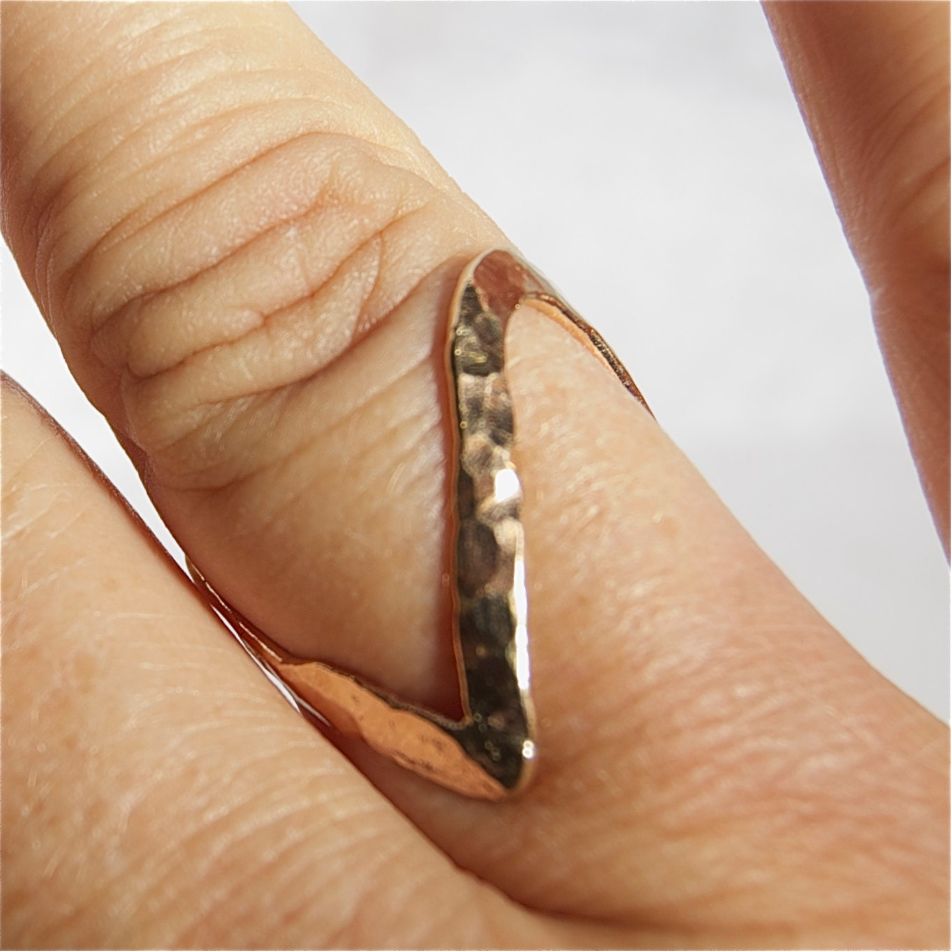 sterling silver thumb finger ring size I up to V 42Yl2Pr