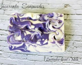 Lavender Goat Milk Soap - Handmade