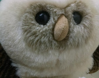 Adorable Heritage Collection Plush Owl Puppet