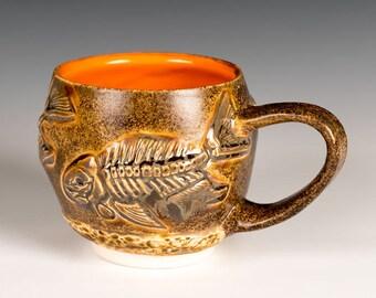 Fish Fossil Mug