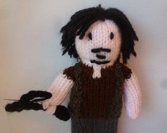 Daryl Dixon (The Walking Dead) knitted doll