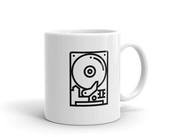 Computer Hard Drive Coffee Mug