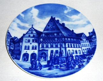 Nice collectible-cabbage at 1880-Brunswick-Fürstenberg 1978-Vintage collector plate