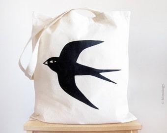 Swallow bird Tote Bag