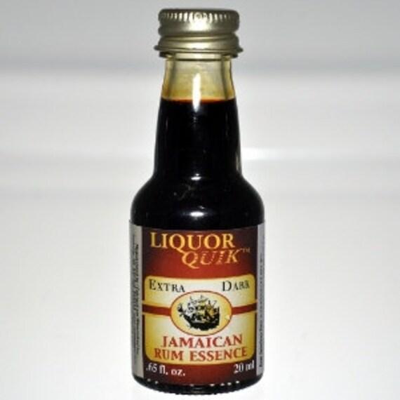 Liquor Quik Ultra Dark Jamaican Rum Essence Home Distilling Flavoring .65 fl oz