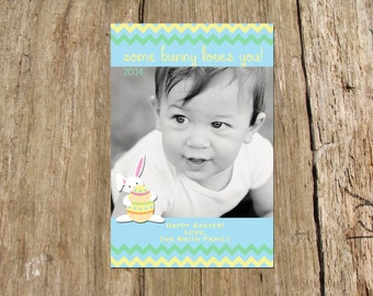 Easter Holiday Photo Card