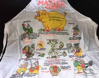 Master chef apron