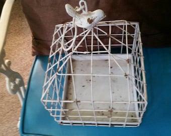 Vintage Shabby Birdcage