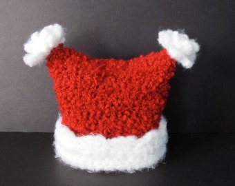 Happy Christmas Hat - PDF Crochet Pattern
