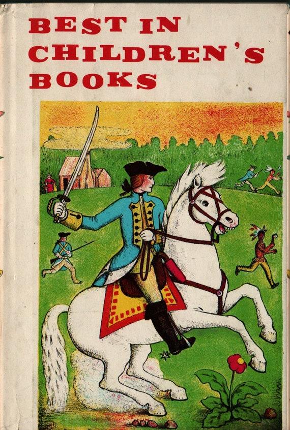 Best in Children's Books Vol. 18 + R.L. Stevenson,  D'Aulaire, Flack, Aesop, Gruelle, Ruth Ives, Rojankovsky, Kessler  + 1959 + Vintage Kids