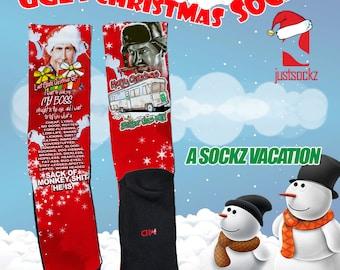 A Sock Vacation Ugly Christmas Socks